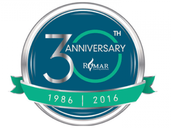 Romar Learning Solutions 30th Anniversary, 1986-2016